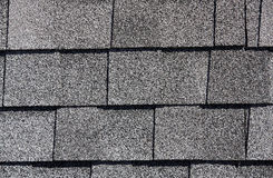 Roofing Shingles basic white tab style pattern Royalty Free Stock Image