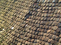 Roofing shingles rooftop Royalty Free Stock Images
