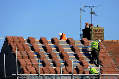 Roofing. Royalty Free Stock Photos