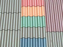 Roofing texture Stock Photos