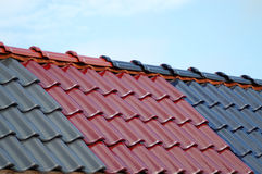 Roofing Tile Stock Image