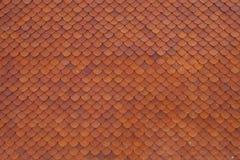 Roofing tile. At Wat Hua Lamphong in Bangkok, Thailand Stock Photography