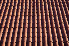 Roofing tiles background Royalty Free Stock Photo