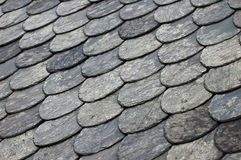 Roofing tiles on roof Stock Photos