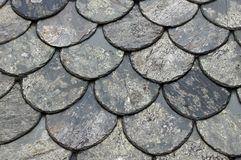 Roofing tiles on roof Stock Photography