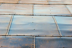 Roofing tiles on roof Royalty Free Stock Photography