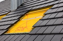 rooflight arkivbilder