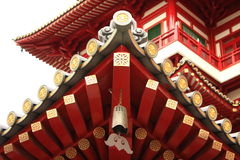 Roofline of a Buddha Temple Stock Photography