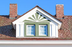 Roofline window Stock Photo