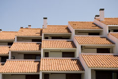 Roofs. Stock Photography