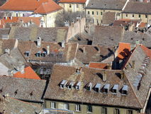 Roofs Stock Photography