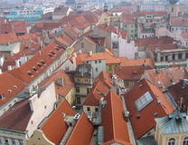 Roofs. Of Prague Stock Image