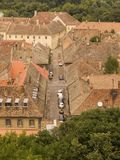 Roofs. Of old houses Royalty Free Stock Image