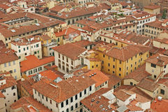 Roofs. Of the old city (Florence, Italy Stock Photos