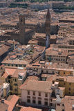 Roofs of aged city. Incredable roofs of aged city,interesting point of view Stock Photos