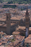 Roofs of aged city. Incredable roofs of aged city,interesting point of view Stock Image