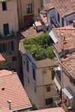 Roofs of aged city. Incredable roofs of aged city,interesting point of view Royalty Free Stock Photography