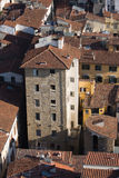 Roofs of aged city. Incredable roofs of aged city,interesting point of view Stock Photo