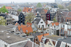 The roofs of Amsterdam Royalty Free Stock Photos