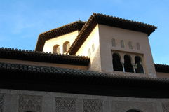 Historical Roofs in Andalusia Spain Royalty Free Stock Images