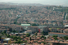 Roofs of Ankara. Stock Photo