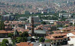 Roofs of Ankara. Stock Photos