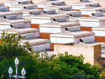 Roofs in Barcelona - Spain Royalty Free Stock Photos