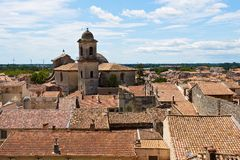 Roofs of  Beaucaire Stock Photography