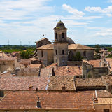 Roofs of  Beaucaire Royalty Free Stock Photos