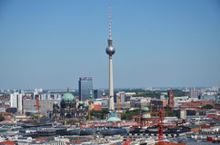 On the roofs of Berlin Royalty Free Stock Images
