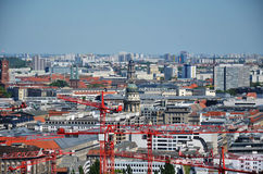 On the roofs of Berlin Royalty Free Stock Image