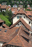 Roofs of Bern. View of the roof tops of Bern, Switzerland Stock Images