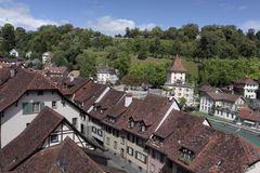 Roofs of Bern Royalty Free Stock Photography