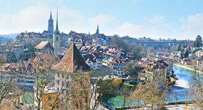 The roofs of Bern royalty free stock photography