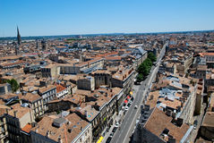 The roofs in Bordeaux Royalty Free Stock Images