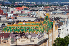 Roofs of Budapest Stock Photo