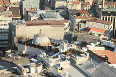 Roofs of buildings in Istanbul Stock Photography