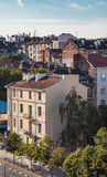 Roofs buildings Sofia Bulgaria Stock Images