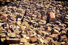 Roofs of Caltabellotta Stock Photos