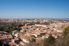 Roofs of Carcassonne Stock Photo