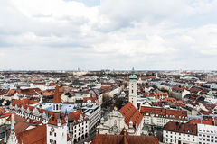 Roofs of central Munich Royalty Free Stock Photos