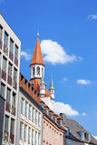 Roofs of central Munich Stock Photo