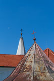Roofs of a church Royalty Free Stock Images