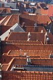 The roofs of the city Royalty Free Stock Photos