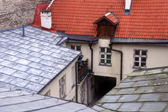 Roofs and Courtyard Royalty Free Stock Photo