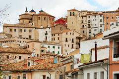 Roofs of Cuenca. Stock Photo