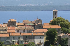 Roofs in Dalmatia Royalty Free Stock Photos