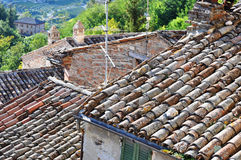 Roofs details Stock Photography