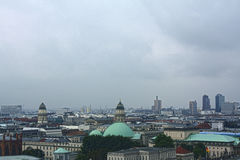 Roofs and Domes of Berlin Royalty Free Stock Photos