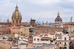 Roofs and domes Royalty Free Stock Photo